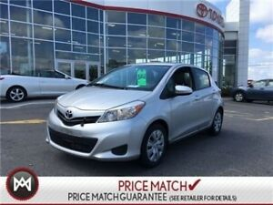 2013 Toyota Yaris LE: AC, POWER GROUP, USB A great city car