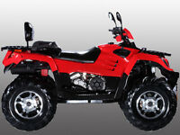 ATV 4X4 550 V-TWIN NOW ONLY $5999.99  1-800-709-6249