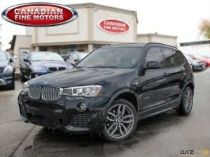 2015 BMW X3 xDrive35i M SPORT PKG NAVI 20 WHEELS 300HP!!