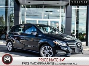 2017 Mercedes-Benz B250 AWD leather great value!