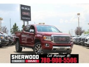 2018 GMC Canyon Denali | Heated/AC Leather | Wireless Charging