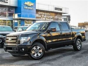 2014 Ford F-150 FX4, SUPERCREW, ECOBOOST 3.7- CLEAN CARPROOF, ON