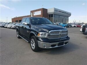2016 Ram 1500 Crew Cab Laramie Diesel, Navigation, Leather, Sunr