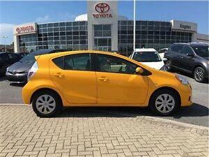 2014 Toyota Prius C Amazing Fuel Economy ..plus it's Yellow!