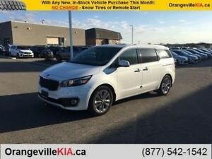 2018 Kia Sedona SXL+ 7-Pass - Leather/Dual Sunroofs/Auto Braking
