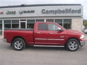 2014 Ram 1500 Bighorn 8 Speed Heated Seats 4X4 Remote Start Trai