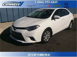 2016 Toyota Corolla LE With Back-UP Camera