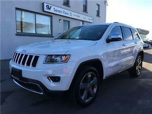 2015 Jeep Grand Cherokee Limited Navigation, Leather, Only 21, 0