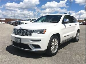 2017 Jeep Grand Cherokee Summit Navigation, Leather, Panoramic S