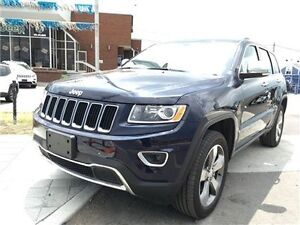 2015 Jeep Grand Cherokee Limited Navigation, Leather, Sunroof !!