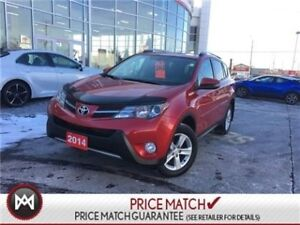2014 Toyota RAV4 XLE: SUNROOF, DUAL ZONE CLIMATE, HEATED SEATS F