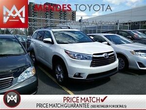 2016 Toyota Highlander LIMITED: SMART KEY SYSTEM, DUAL SUNROOF,