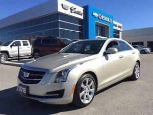 2015 Cadillac ATS Sedan Luxury AWD   Navi   Sunroof