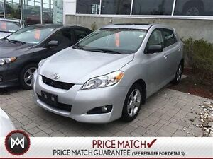 2013 Toyota Matrix TOURING PACKAGE, ALLOY WHEELS, POWER MOONROOF