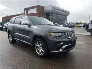 2015 Jeep Grand Cherokee Summit Navigation, Leather, Panoramic S