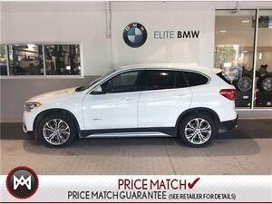 2017 BMW X1 PREMIUM, AWD, SUNROOF