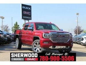 2018 GMC Sierra 1500 Denali | 6.2L V8 | Heated/AC Leather | Memo