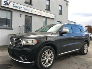 2014 Dodge Durango Citadel Navigation, Leather, Sunroof !!!