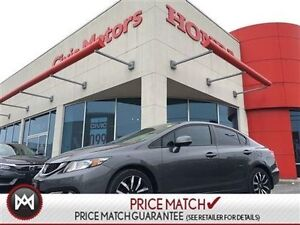 2013 Honda Civic Sdn TOURING NAVI LEATHER ROOF