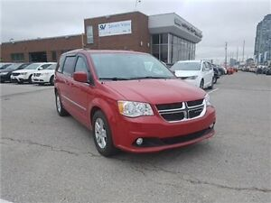 2015 Dodge Grand Caravan Crew Leather, Dual DVD Player, Sunroof