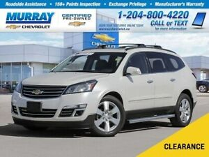 2014 Chevrolet Traverse LTZ *Heated Seats, Remote Start, Rear Vi