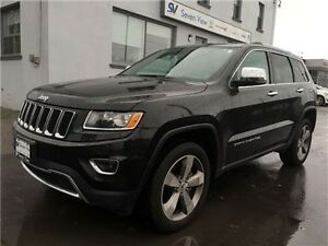 2015 Jeep Grand Cherokee Limited Navigation, Leather, Only 17,00