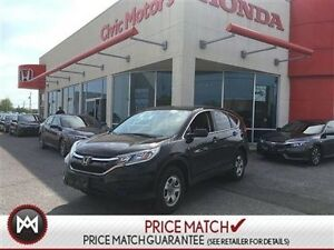 2015 Honda CR-V LX - 7YR/130,000 KMS HONDA WARRANTY, AIR CONDITI