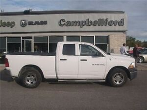 2012 Ram 1500 ST QC 4X4 AIR Conditioning Running Boards Trailer