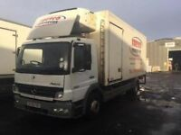 USED REFRIGERATED TRUCK MERCEDES ATEGO 1322 FRIDGE TRUCK