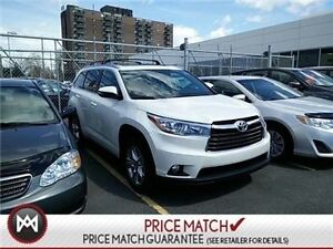 2016 Toyota Highlander LIMITED, DUAL SUNROOFS, LEATHER, CHROME W