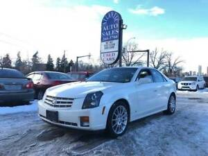 Cadillac cts 2007 white pearl