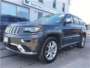 2015 Jeep Grand Cherokee Summit Navigation, Panoramic Roof, Only