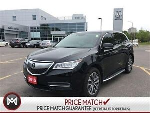2015 Acura MDX AWD TECH PACKAGE NAVIGATION DVD