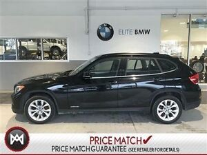 2013 BMW X1 AWD, 36K, LEATHER