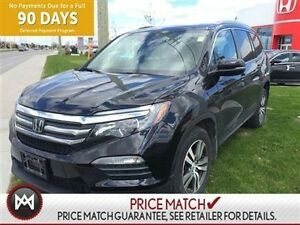 2016 Honda Pilot EX-L/DVD,BACK UP CAMERA,ROOF,LEATHER INTERIOR,