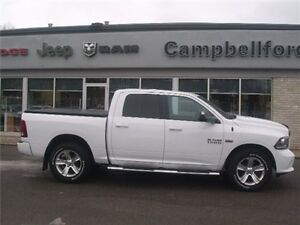 2014 Ram 1500 Sport 8 Speed Heated Seats Leather Navigation 4X4