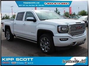 2017 GMC Sierra 1500 Denali Ultimate, Leather, Loaded, LOW KM