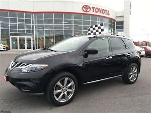 2012 Nissan Murano Platinum Edition with Nissan Extended Warrant