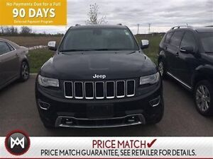 2014 Jeep Grand Cherokee OVERLAND,LEATHER PANORAMIC ROOF,HEIGHT
