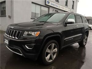 2015 Jeep Grand Cherokee Limited Navigation, Leather, Only 17, 0
