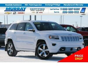 2016 Jeep Grand Cherokee Overland 4WD*NAV,PARKING SONAR,REMOTE S