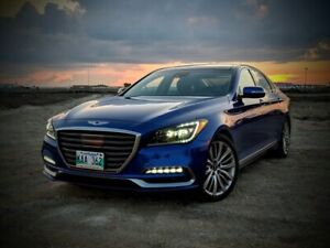 2018 Genesis G80 5.0 Ultimate AWD *with Heated Seats   Heated St