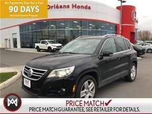 2011 Volkswagen Tiguan LEATHER,SUNROOF,HEATED SEATS, AWD COMES W