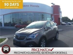 2014 Buick Encore LEATHER INTERIOR, HEATED POWERED SEATS,SUNROOF