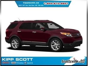 2013 Ford Explorer Limited 4WD, Heated/Cooled Leather, SYNC