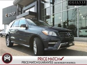 2014 Mercedes-Benz ML350 Trailor hitch, navi, panoramic sunroof