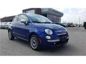 2012 FIAT 500 Lounge Leather, Sunroof
