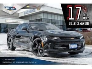 2018 Chevrolet Camaro | DEMO | RS | SUNROOF | BLACK WHEELS |