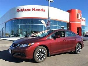 2015 Honda Civic BACK UP CAMERA,HEATED SEATS,SUNROOF ALLOYS BARE