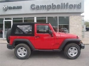 2014 Jeep Wrangler Sport 6 Speed Manual4X4 Soft TOP